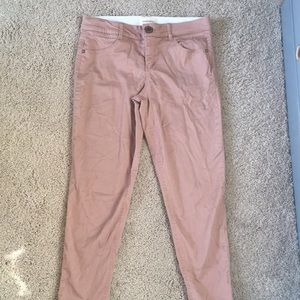 Barely worn pale pink jeans!